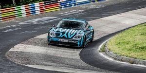 Porsche Taycan récord Nürburgring