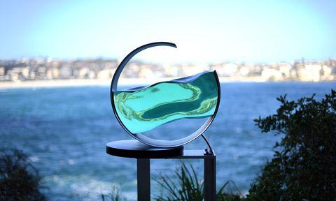 Sculpture by the Sea,la exposición anual de esculturas más grande del mundo.
