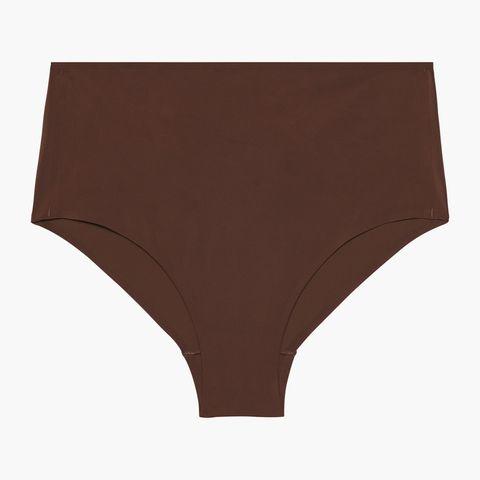 Briefs, Undergarment, Clothing, Brown, Lingerie, Underpants, Swim brief, Beige, Swimsuit bottom, Bikini,