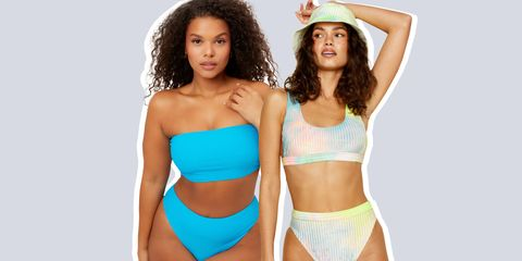 high waisted swimsuits 2021