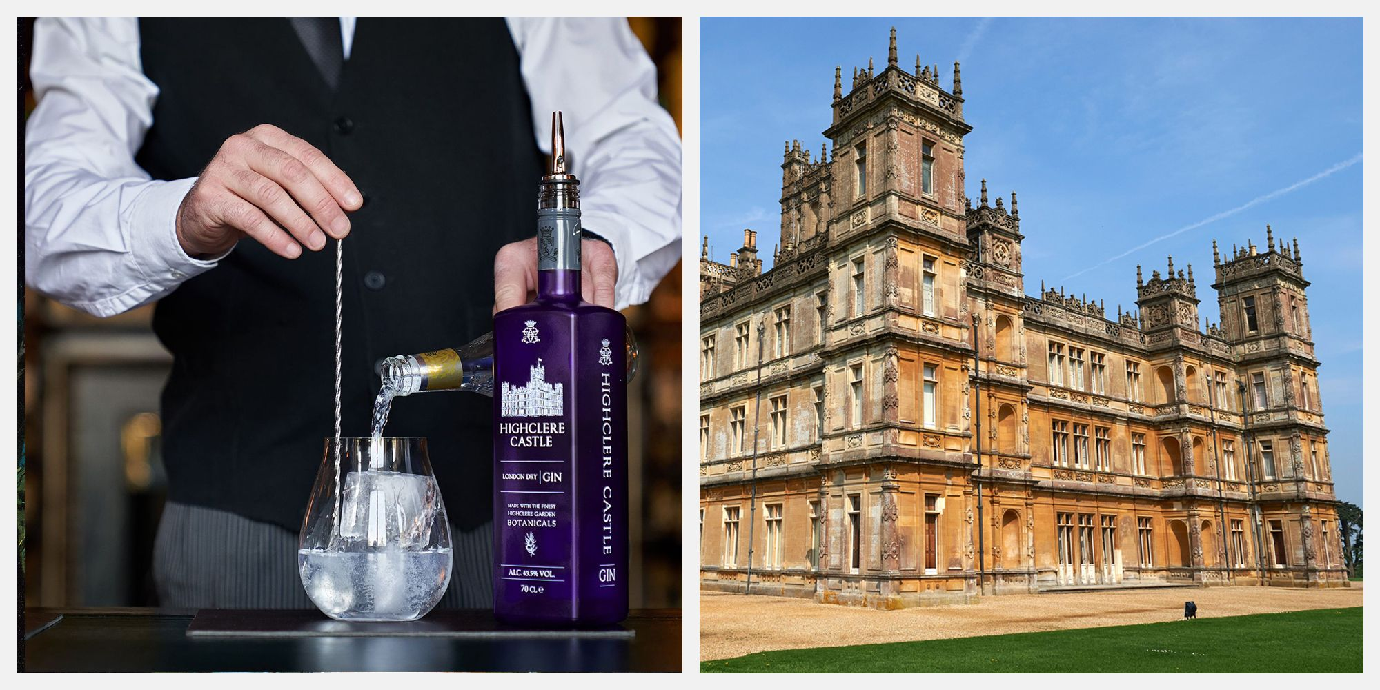 Try a 1920s Cocktail from the Real-Life Downton Abbey, Highclere Castle