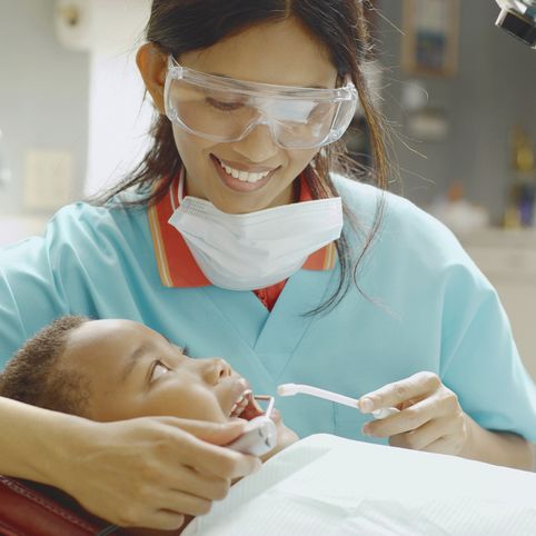 highest-paying jobs-without-a-college-degree - Dental Hygienist