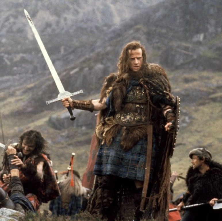 Highlander Christopher Lambert and Sean Connery star in the first film of the long-running Highlander franchise, which sees Lambert's Scottish warrior traveling through time to save all of humanity from an immortal foe who wants to enslave the planet.