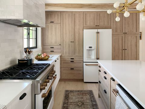 How Chris Loves Julia Made A Super Luxe Looking Kitchen With