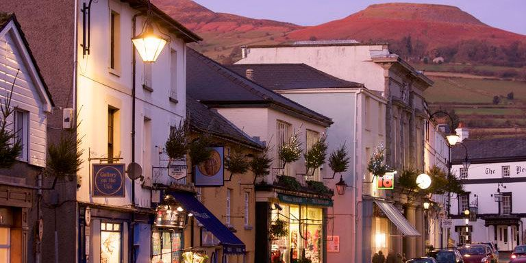 Crickhowell In The Brecon Beacons Is The Uk S Best High Street