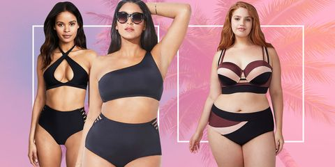 2370327eba 17 High-Waisted Swimsuits That Will Make You Look Incredibly Sexy ...