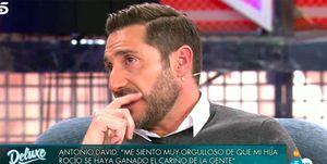 Antonio David Flores emocionado