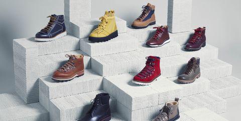 Footwear, Shoe, Shelf, Furniture, Collection, Art,