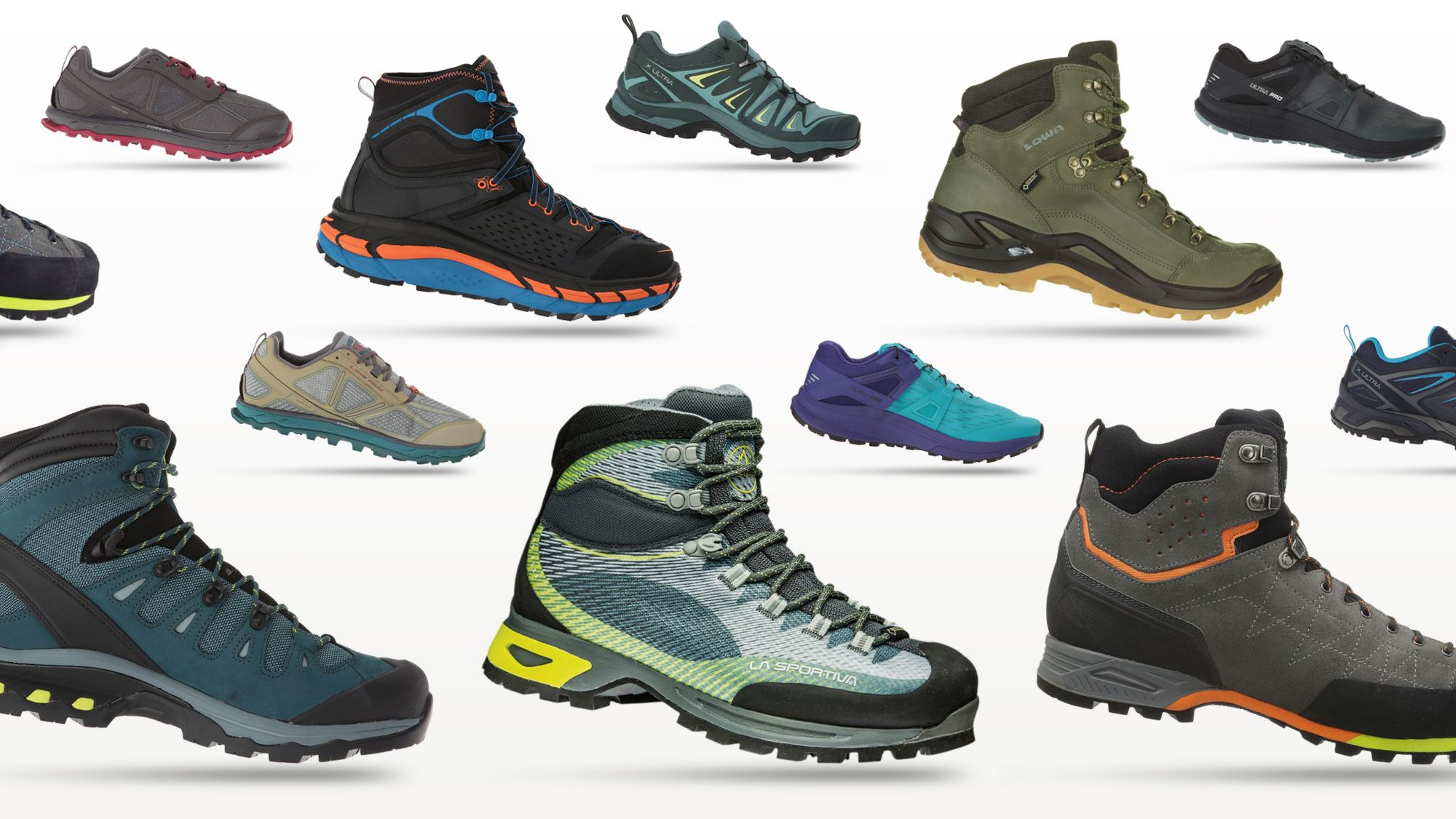 The 10 Best Hiking Boots and Trail-Running Shoes This Year