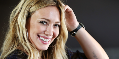 Hilary Duff's Hair Routine Includes Texturizing Spray, Dry Shampoo, and More Texturizing Spray
