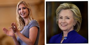 Ivanka TRump and Hillary CLinton | ELLE UK