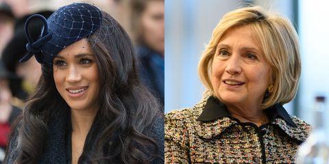 Meghan Markle and Hillary Clinton