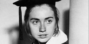 Hillary Clinton As Wellesley College Senior