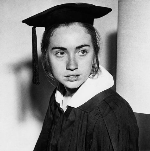 Hillary Clinton As Wellesley College Senior