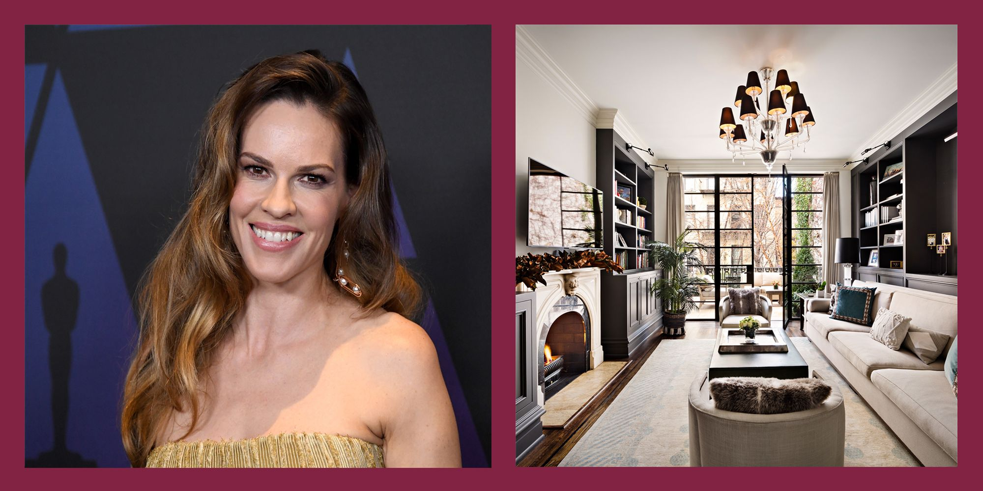 Hillary Swank and Chad Lowe's Former West Village Townhouse is on Sale for $11 Million