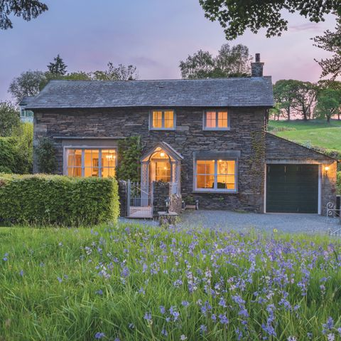 Hilltop for sale in Cumbria - outside countryside view