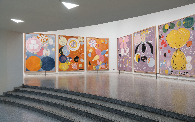 Hilma af Klint Guggenheim Exhibit 2019 - Hilma af Klint New York ...