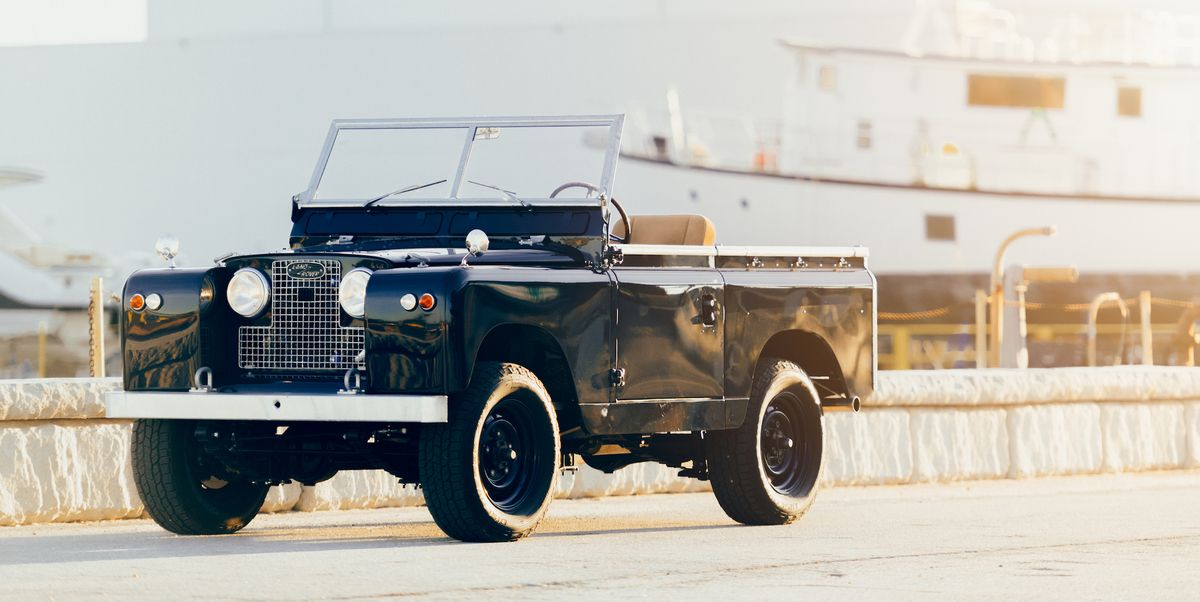 Himalaya, Taylor Stitch Team Up to Create a Stunning Vintage Land Rover