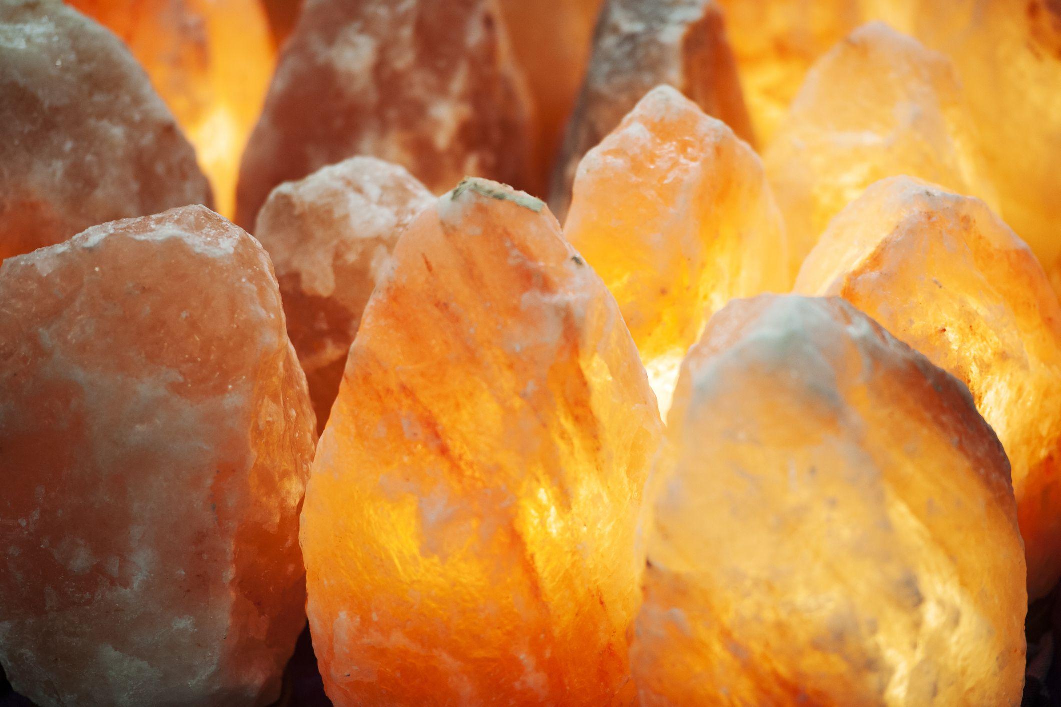 Do Himalayan salt lamps offer health benefits?