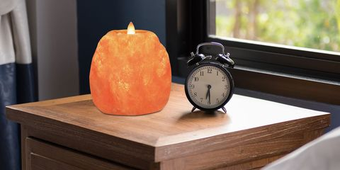 Himalayan Carved Salt Candle Holders
