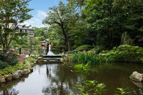 フォーシーズンズホテル京都の庭園