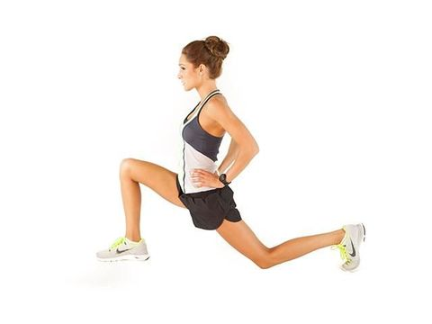 Arm, Leg, Human leg, Thigh, Joint, Knee, Shoulder, Sportswear, Lunge, Exercise,