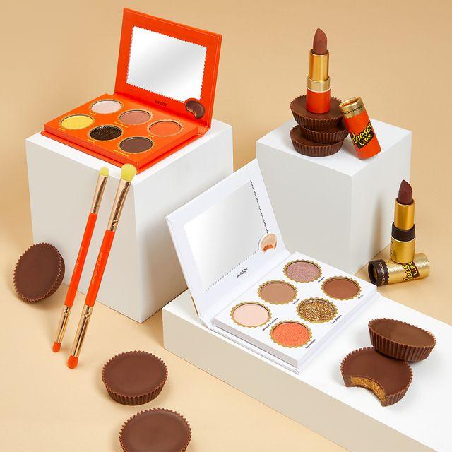 hipdot cosmetics hershey's reese's makeup collection