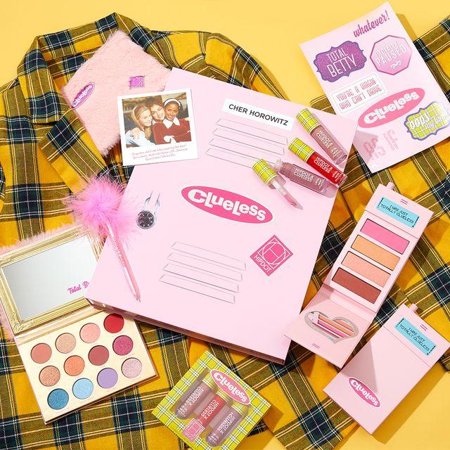 hipdot cosmetics x clueless makeup collection