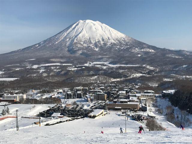 Hirafu Village and Mt Yotei