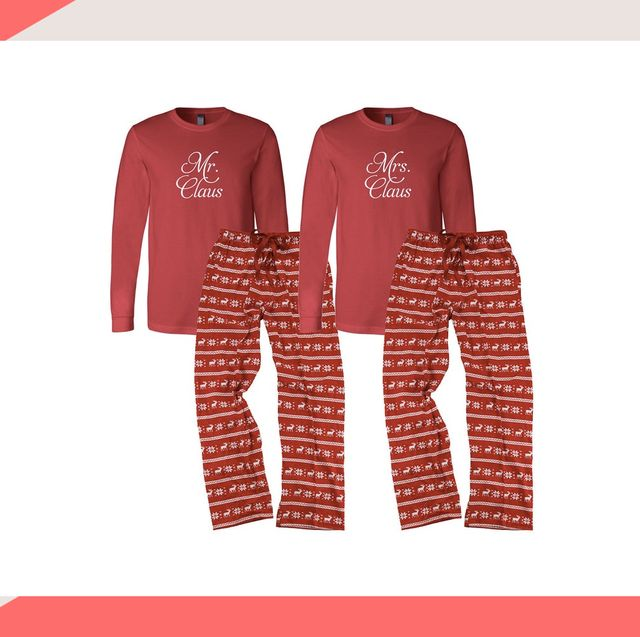 Best Christmas Pajamas 2020 Best his and hers Christmas pyjamas   Couples' Christmas pyjama