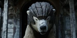 His Dark Materials: Armoured bear
