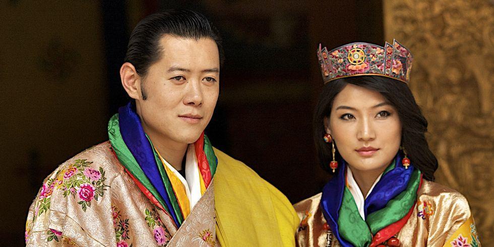 夫妻 ブータン 国王