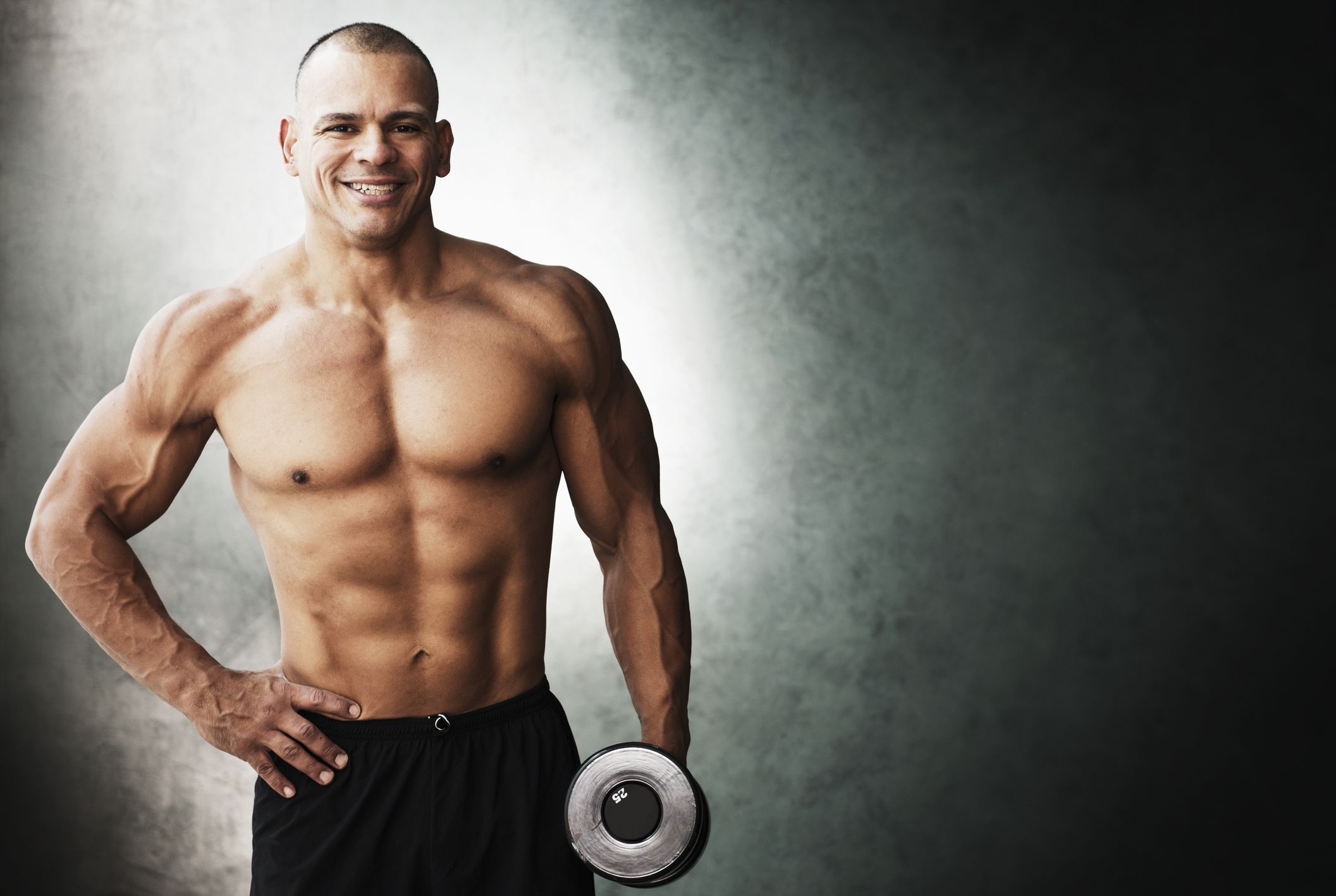 This 2-Move Dumbbell Shoulder Workout Is Great for Men Over 40