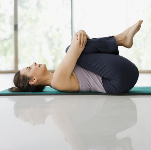 9 yoga stretches to release postrun tension