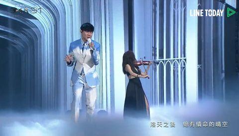 【金曲31】金曲歌王林俊傑「吞cd演出」飆完美高音震撼全場!