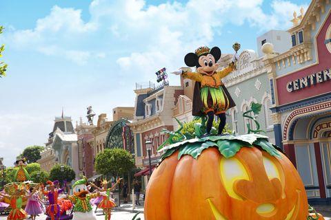 香港迪士尼樂園Disney Halloween Time