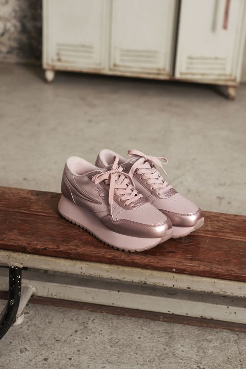 Footwear, Shoe, White, Fashion, Floor, Athletic shoe, Flooring, Beige, Sneakers, Outdoor shoe,
