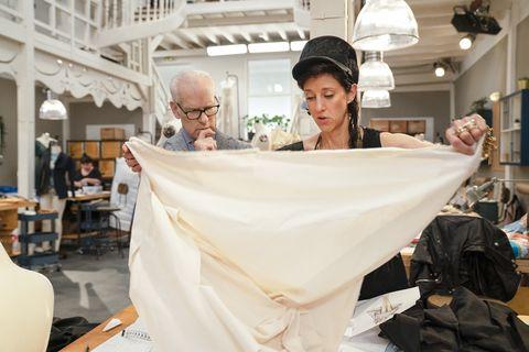 Esther Perbandt Berlin Designer Meet Making The Cut S Queen Of Black