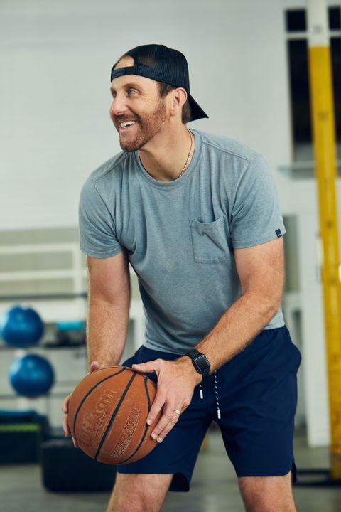 ethan brown playing basketball