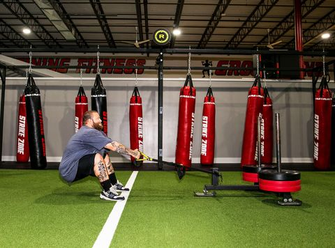action bronson in the gym