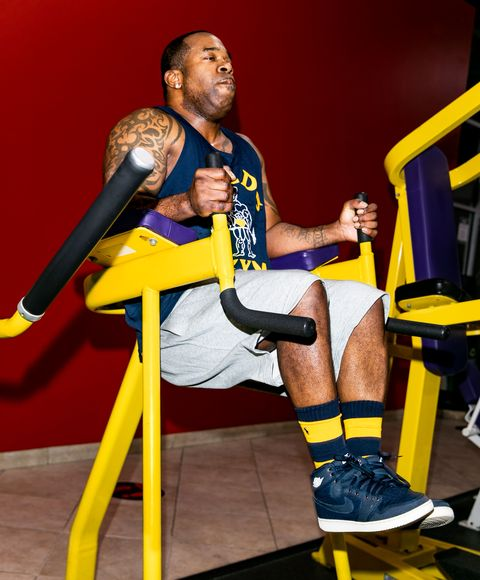 busta rhymes working out