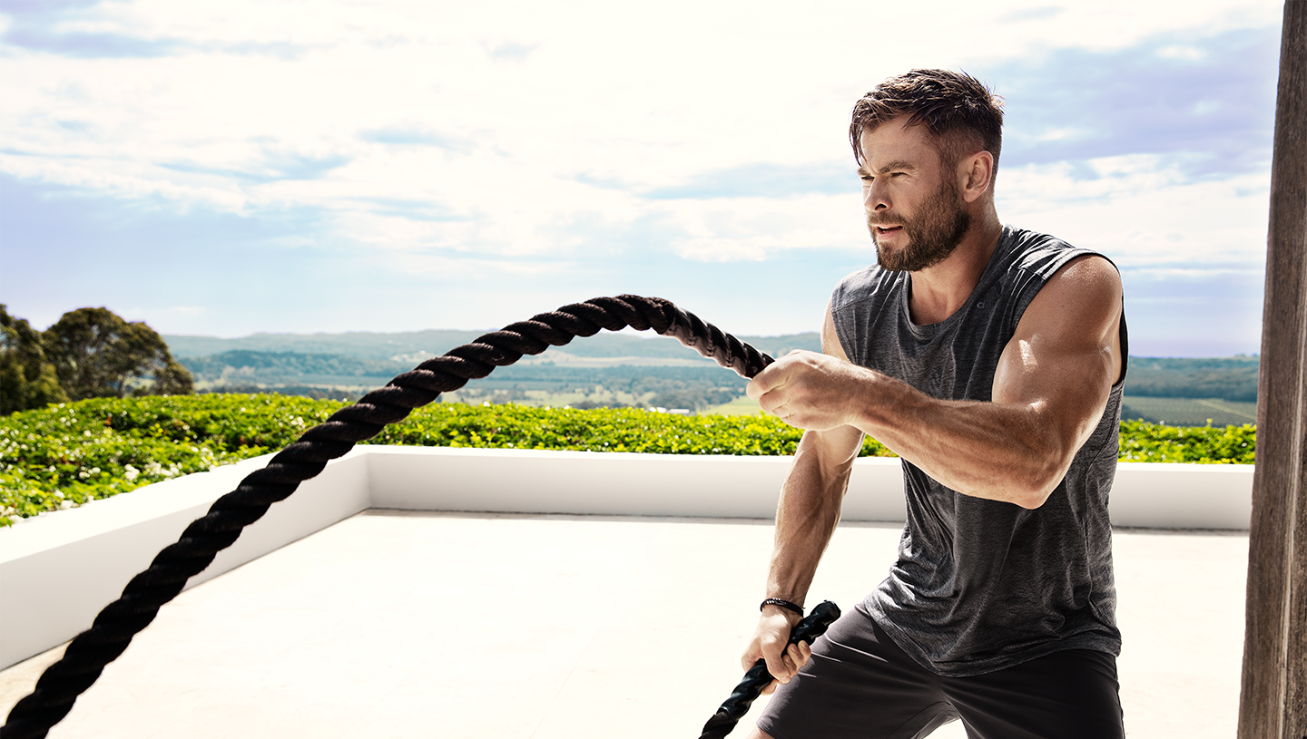 Chris Hemsworth on Building a Stronger, Faster, Better Future