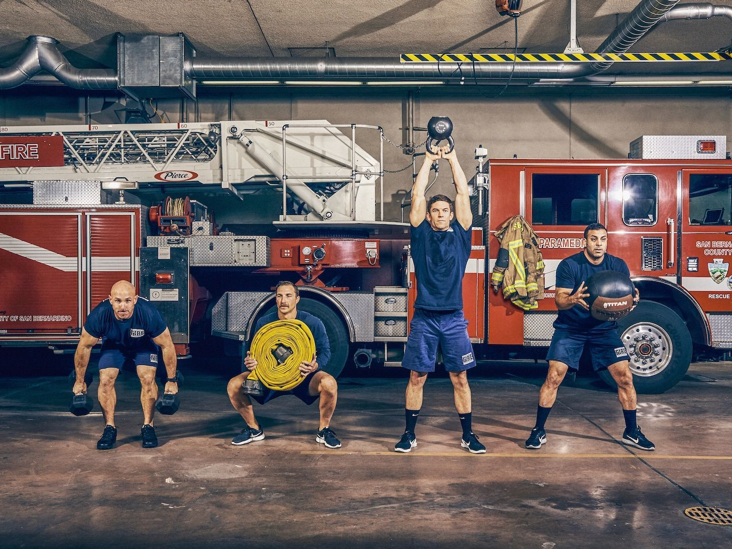 How Firefighters Are Crushing Workouts to Make Saving Lives Easier
