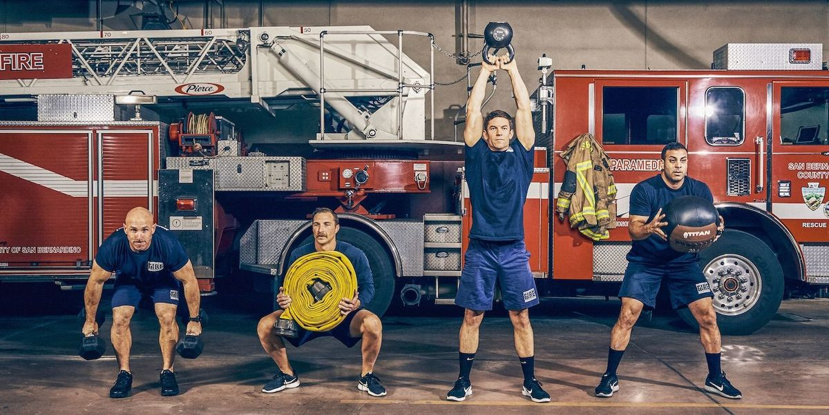 How Firefighters Use Fitness and Workouts to Train at Firehouses - menshealth.com