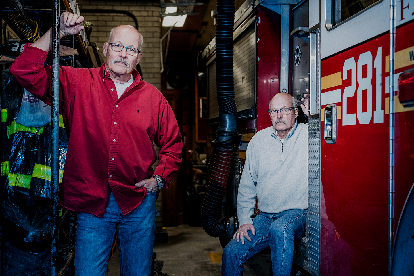 These Firefighting Twins Shed Their 'Macho' Hang-Ups to Beat Prostate Cancer Together