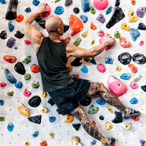 Climbing hold, Climbing, Bouldering, Sport climbing, Adventure, Rock climbing, Free climbing, Recreation, Climbing shoe, Leisure,