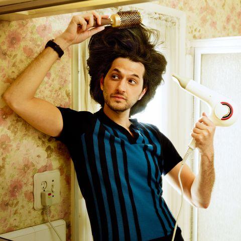 ben schwartz hair interview