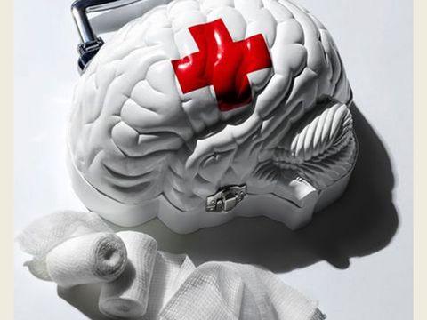 Helmet, Head, Motorcycle helmet, Brain, Personal protective equipment, Organ, Brain, Illustration, Skull, Sports gear,