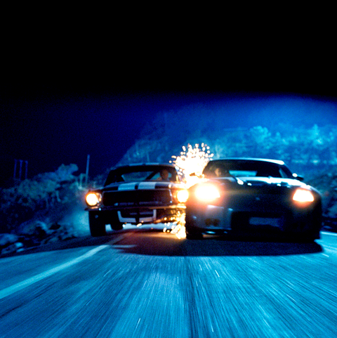 Vehicle, Car, Headlamp, Automotive lighting, Light, Automotive design, Sky, Performance car, Automotive exterior, Night,
