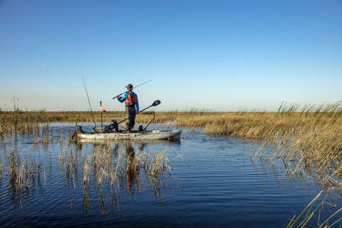 Marsh, Water, Natural environment, Recreational fishing, Outdoor recreation, Fly fishing, Recreation, Angling, Wilderness, Fishing rod,